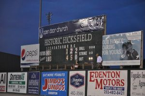 Hicks Field Scoreboard